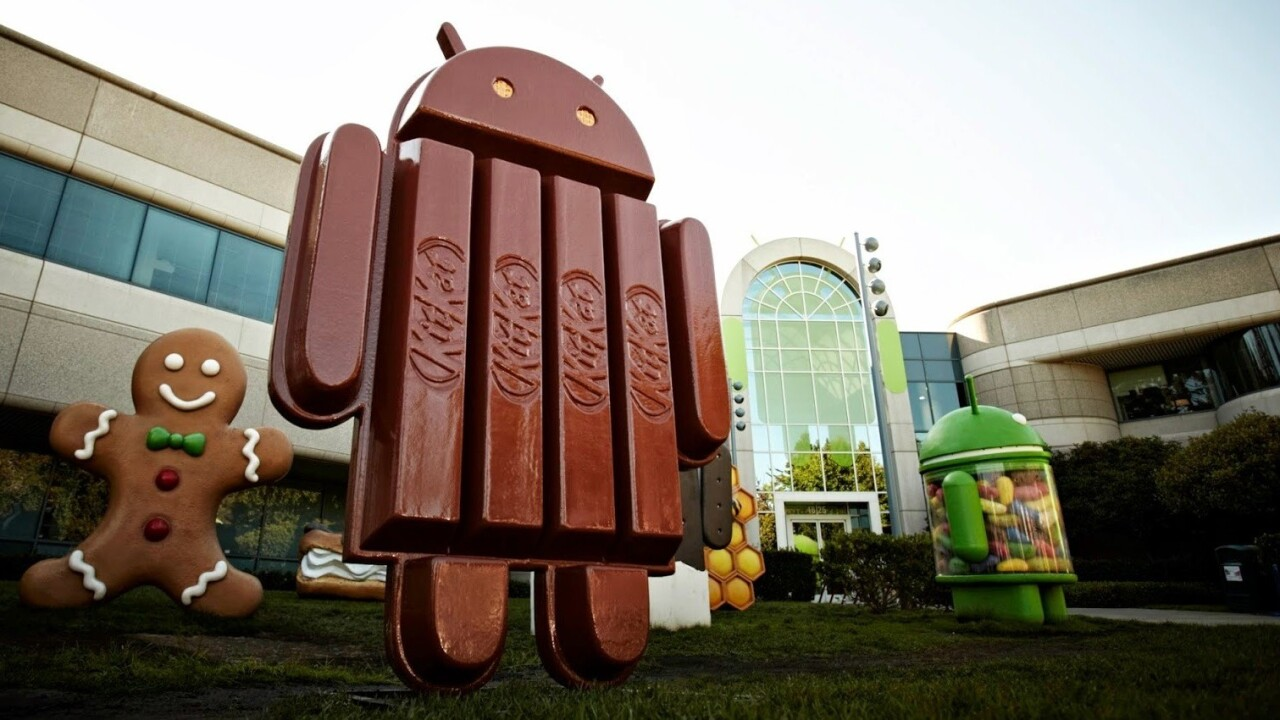 Google yanks video of Android KitKat statue unveiling after possible Nexus prototype spotted