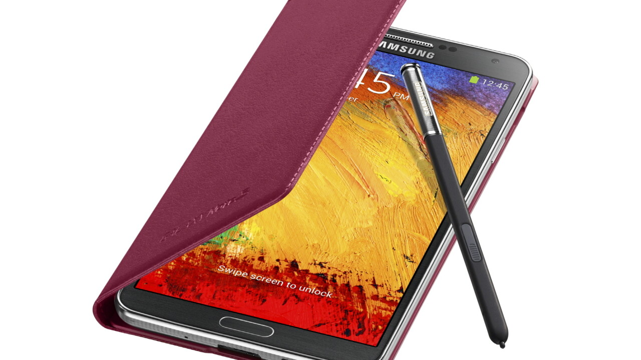 Samsung launches the Galaxy Note 3: 5.7″ 1080p display, Android 4.3, 13MP camera and new S Pen features