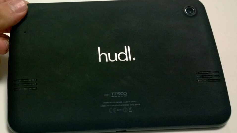 Tesco launches 7-inch Hudl Android Jelly Bean tablet with 1.5Ghz processor for £119