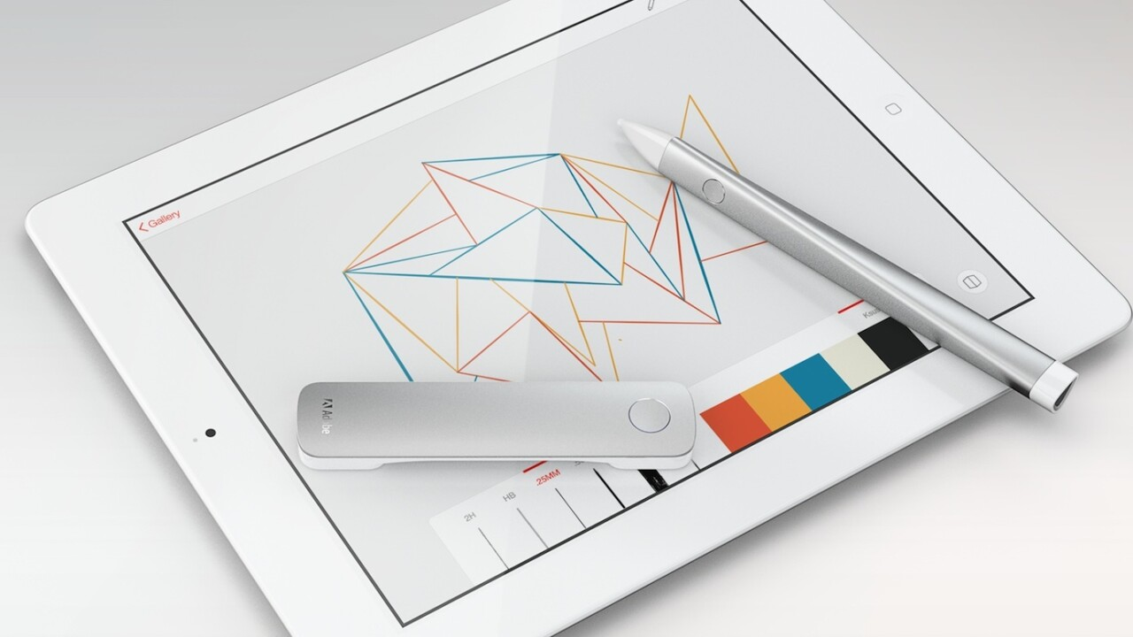 Adobe moves into hardware: Project Mighty 'cloud pen' and Project Napoleon ruler to launch in 2014