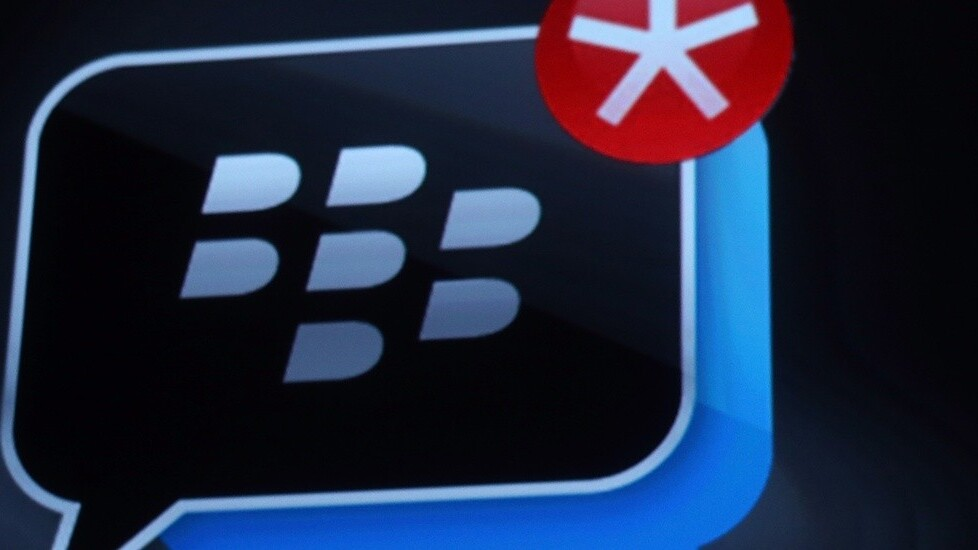 BlackBerry says BBM for Android and iOS passed 20m users in the last week, pushing BBM's total userbase past 80m