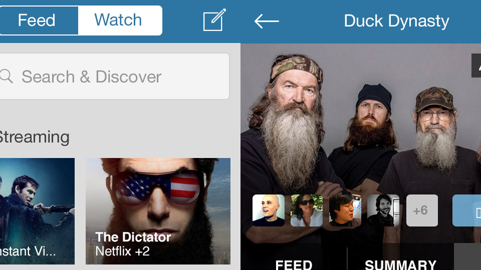 GetGlue updates its iOS app to become a 'social remote control' (at least for some US users)