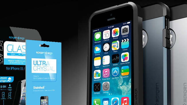 Protect your iPhone 5 or 5s with the Spigen Tough Armor Case bundle: 50% off – come and get it!