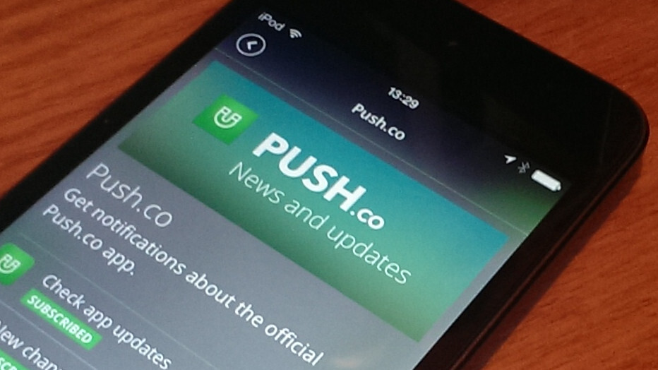 If you like IFTTT then you'll adore Push.co with IFTTT