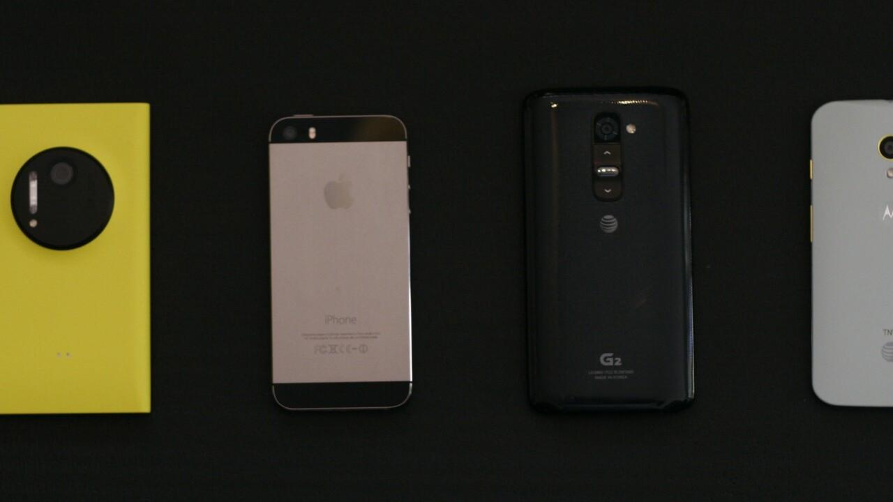 Smartphone camera shootout: Lumia 1020, iPhone 5s, G2 and Moto X