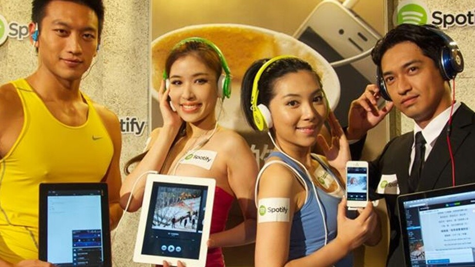 Spotify is now live in 32 countries after launching in Taiwan, Argentina, Greece and Turkey