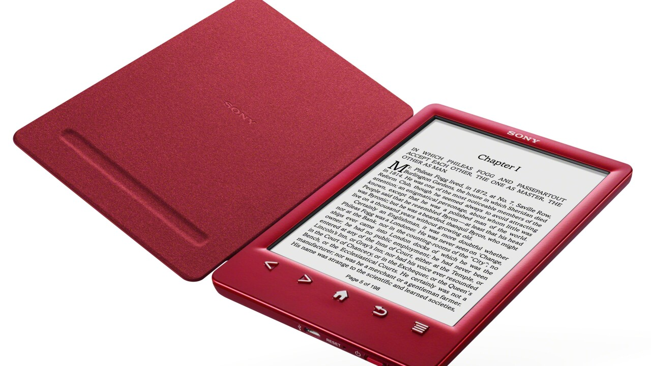 Sony launches Reader PRS-T3 with colorful snap covers to combat Amazon's new Kindle Paperwhite