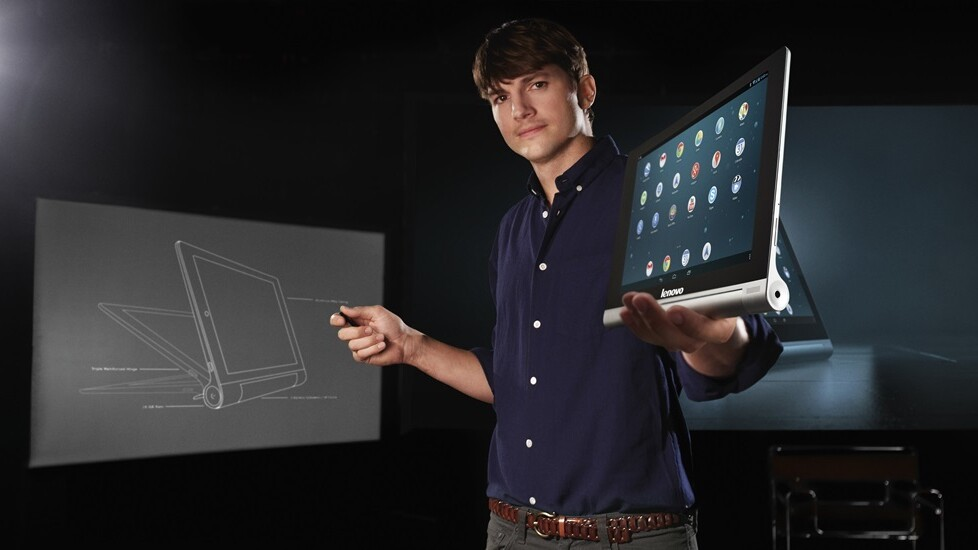 Lenovo's Yoga Tablet is an Android-powered multimode device with an apparent 18 hour battery life