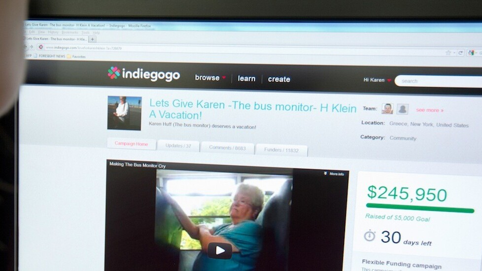 Indiegogo's new features help campaigners track data and raise more money for their projects
