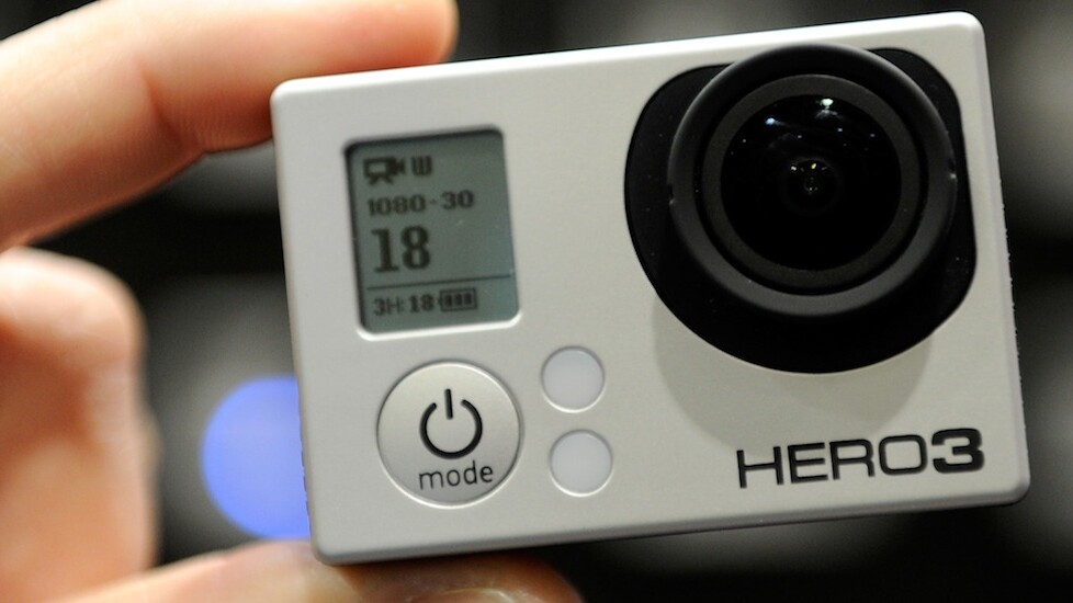 The Hero3+ is GoPro's smallest and lightest action camera yet