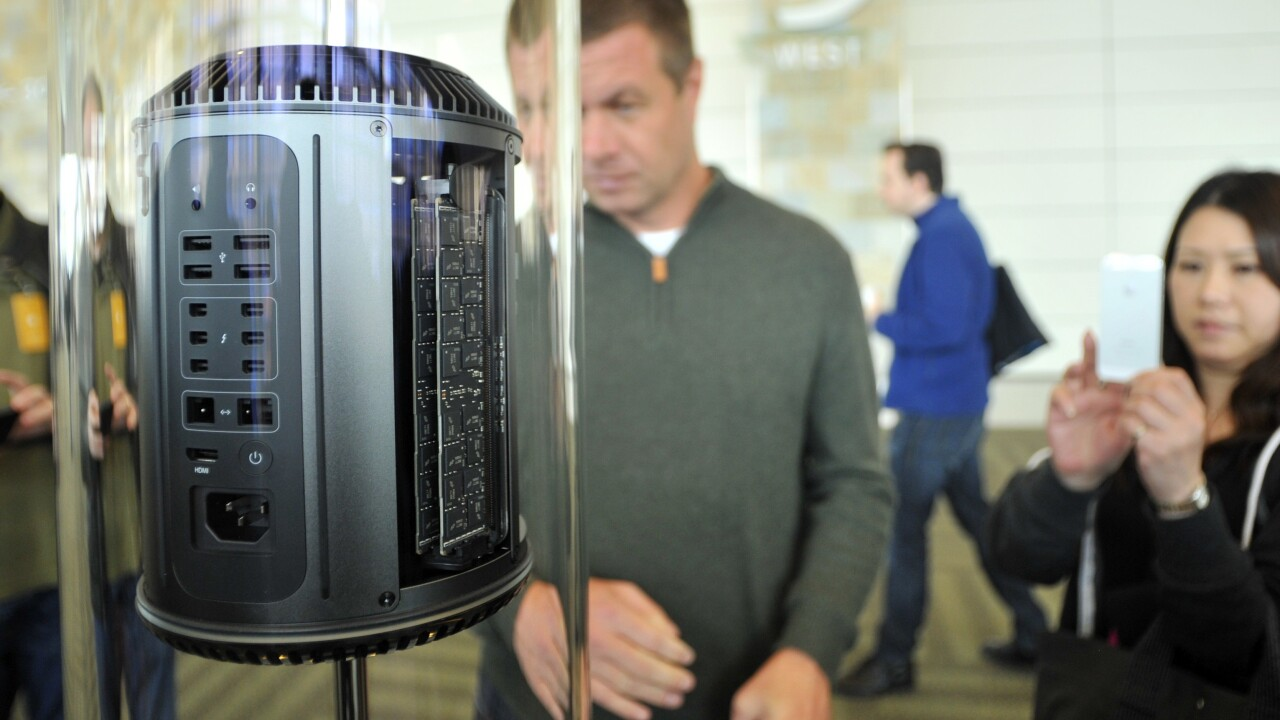You'll be able to buy Apple's redesigned Mac Pro for $2,999 before the end of the year