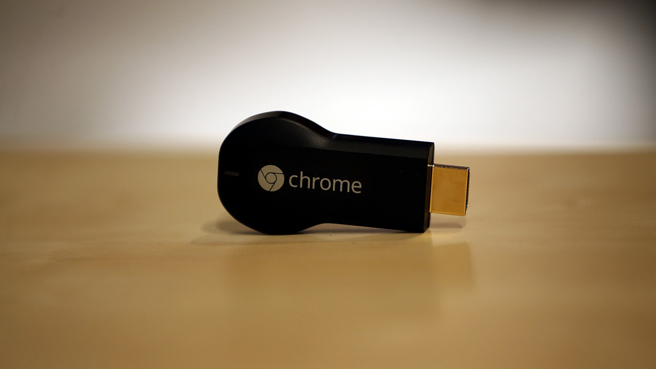 Update: Amazon.com has stopped taking international orders for Chromecast