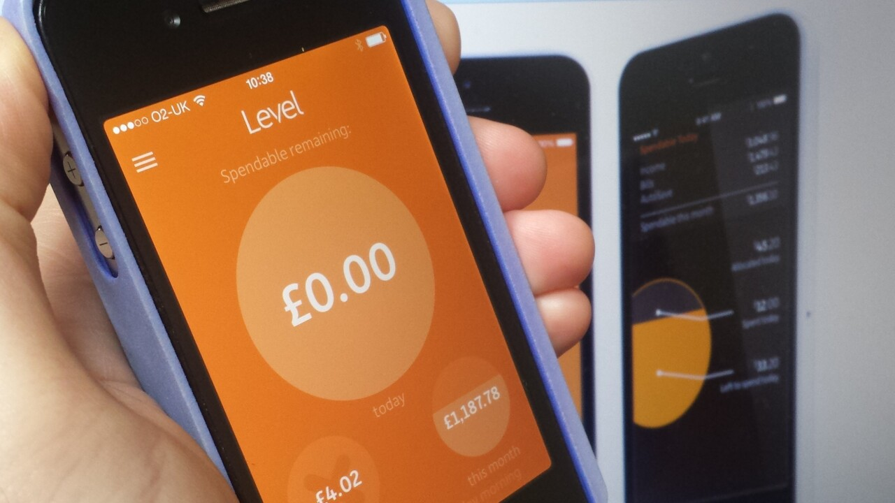 Level: A real-time money meter app that wants to be your Fitbit for personal spending
