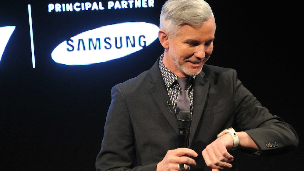 Legendary film director Baz Luhrmann explains why he's 'sold' on the Galaxy Gear smartwatch
