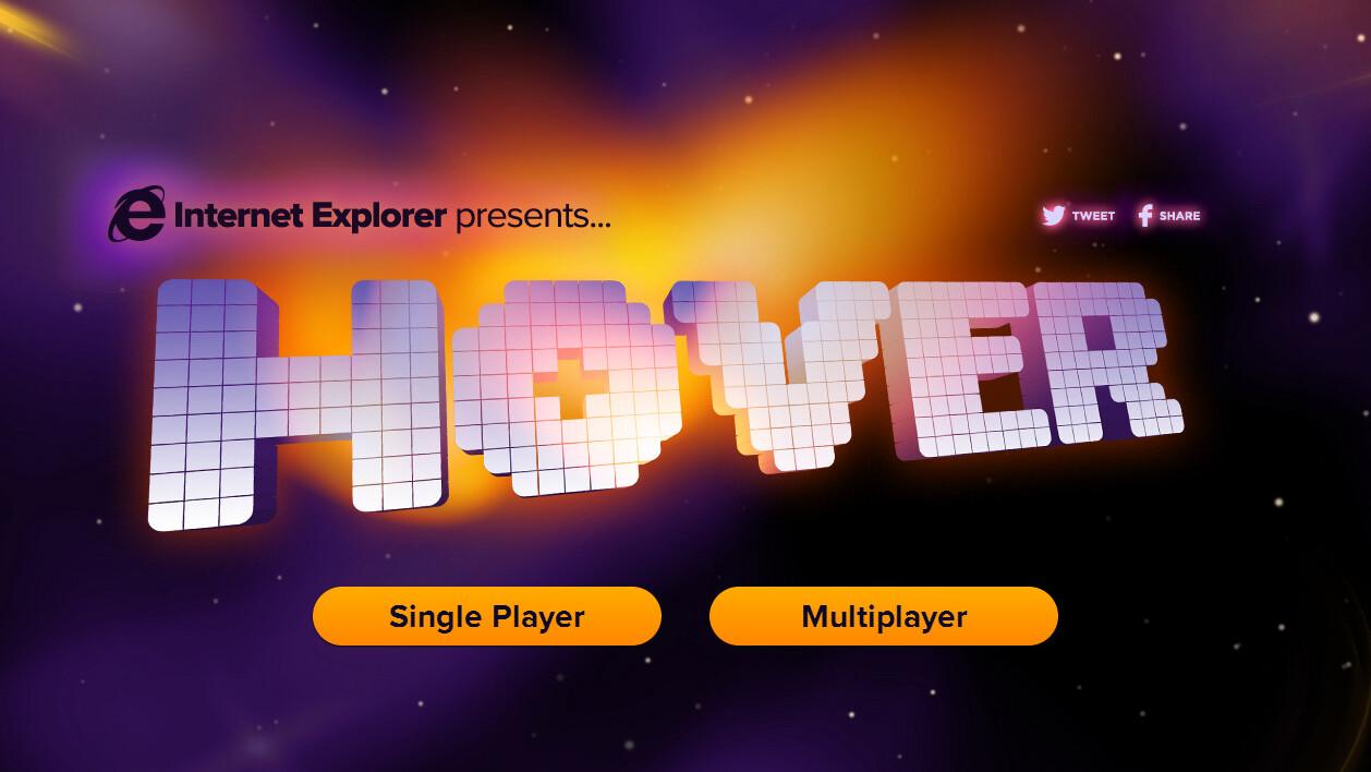 Retro gaming FTW: Microsoft brings Hover to Internet Explorer 11