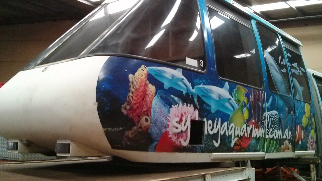 Google engineer submits joke support ticket asking for a monorail. Google buys monorail cars