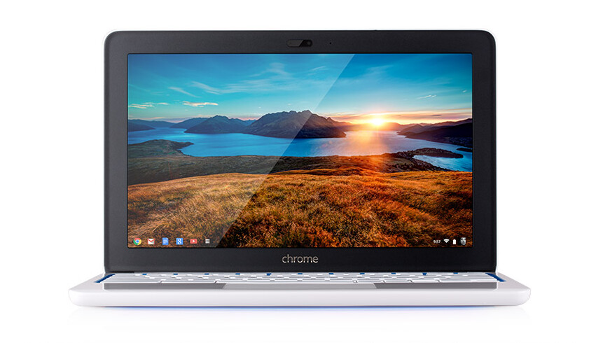 The HP Chromebook 11 is a 2.3lb Chrome OS laptop with Micro USB charging for $279.99