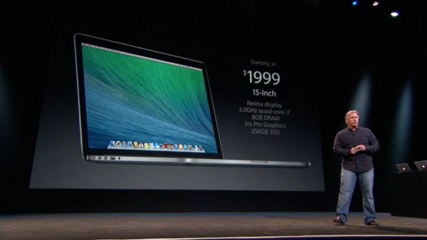 Apple unveils new 13-inch and 15-inch Retina MacBook Pros, shipping today