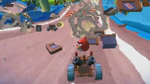 Angry Birds Go! will launch on December 11, here's the first video of the Mario Kart-style racing game