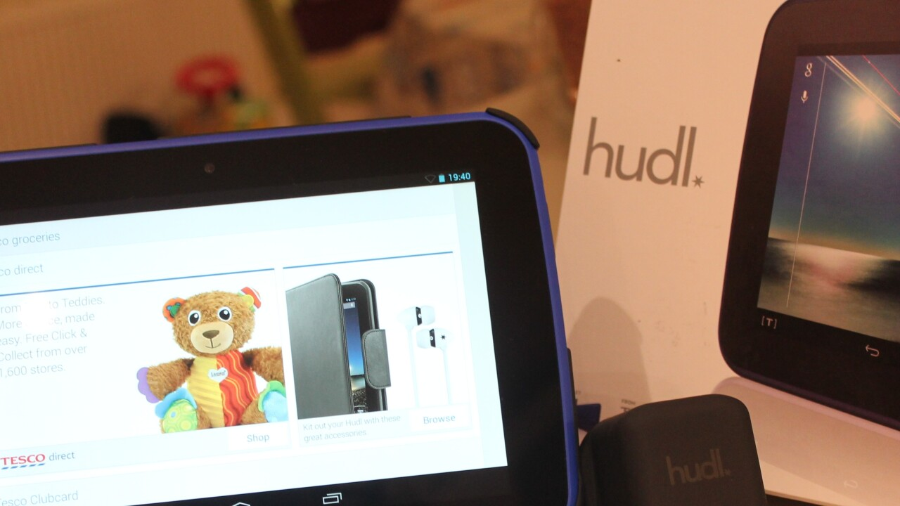 Hudl: With Tesco's tablet, you get a lot of bang for your buck