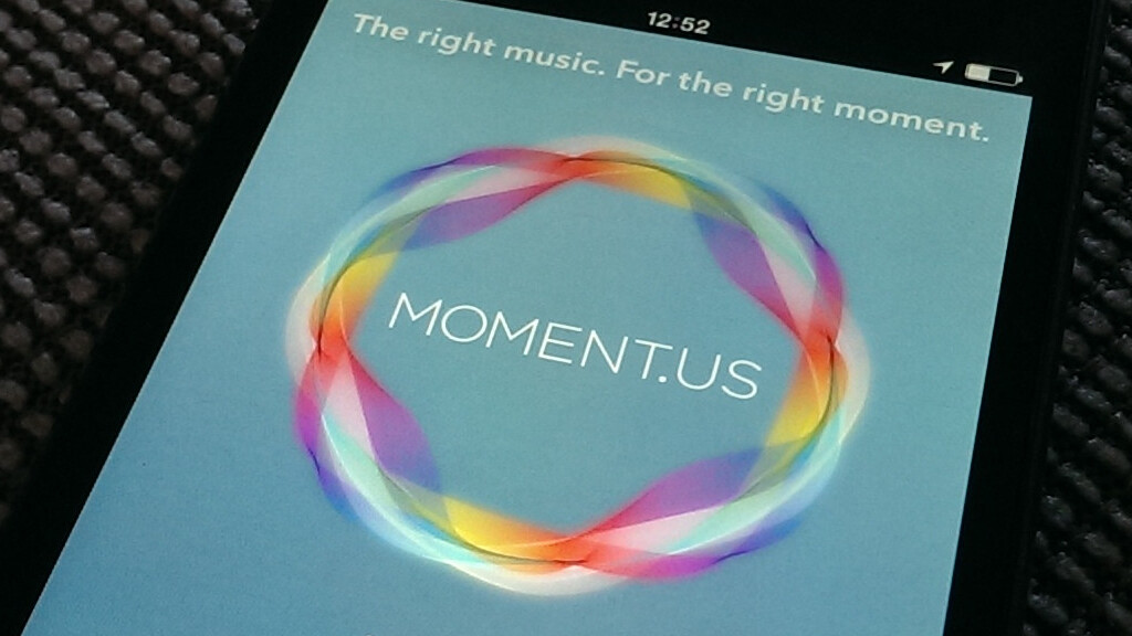 Moment.us for iOS wants to play you the right song for right now