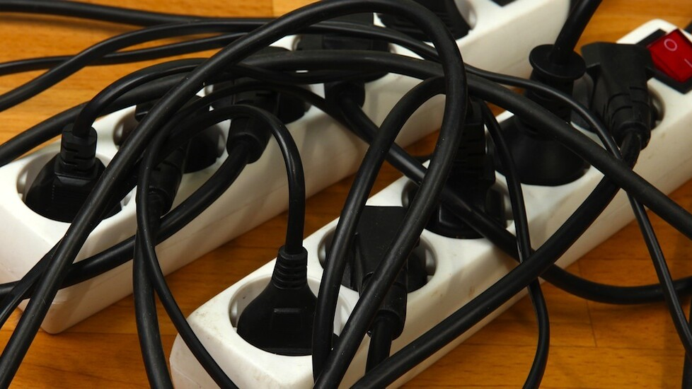 thingCHARGER transforms any US outlet into a clutter-free charging station with multiple adapters