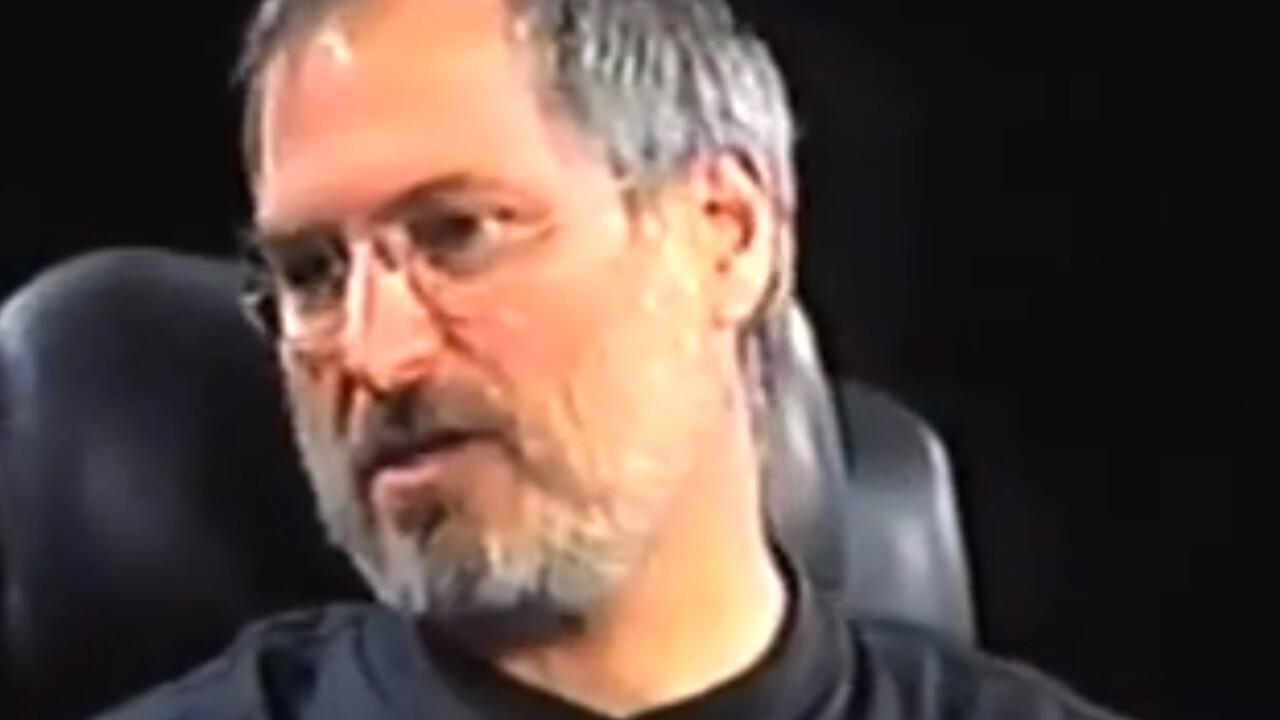 Hear Steve Jobs convincingly dismiss tablets 10 years ago