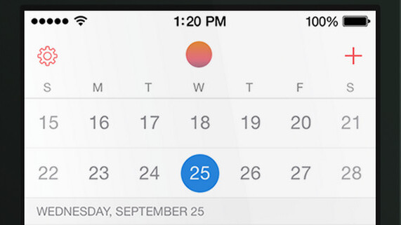 Smart calendar app Sunrise now supports iCloud as it launches a gorgeous new look for iOS 7