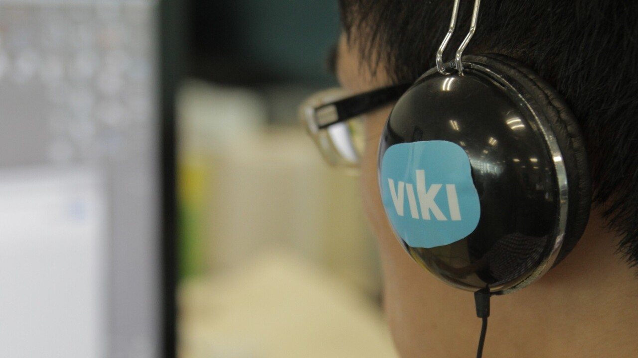 Rakuten-owned video site Viki announces branded channels, a big step towards making more money