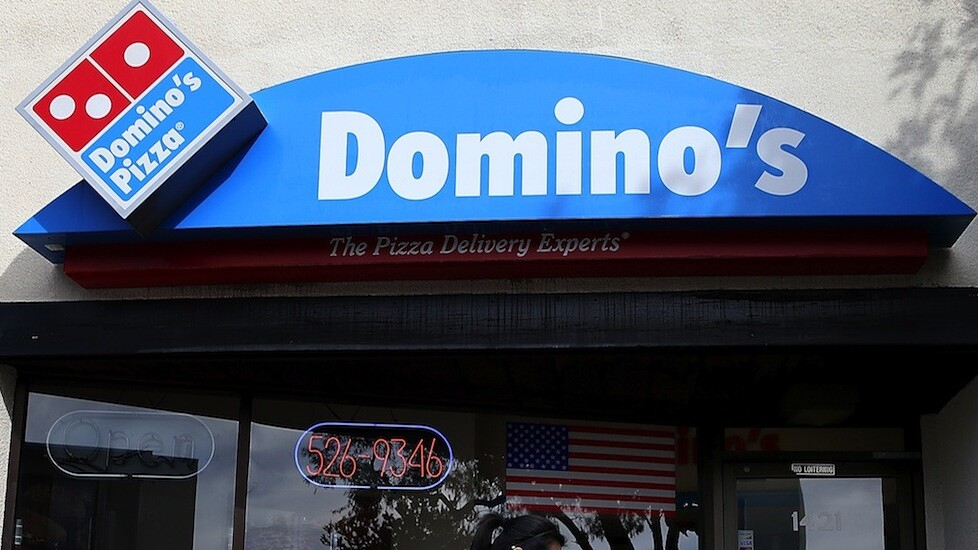This cool device lets you order a Domino's pizza with just the push of a button