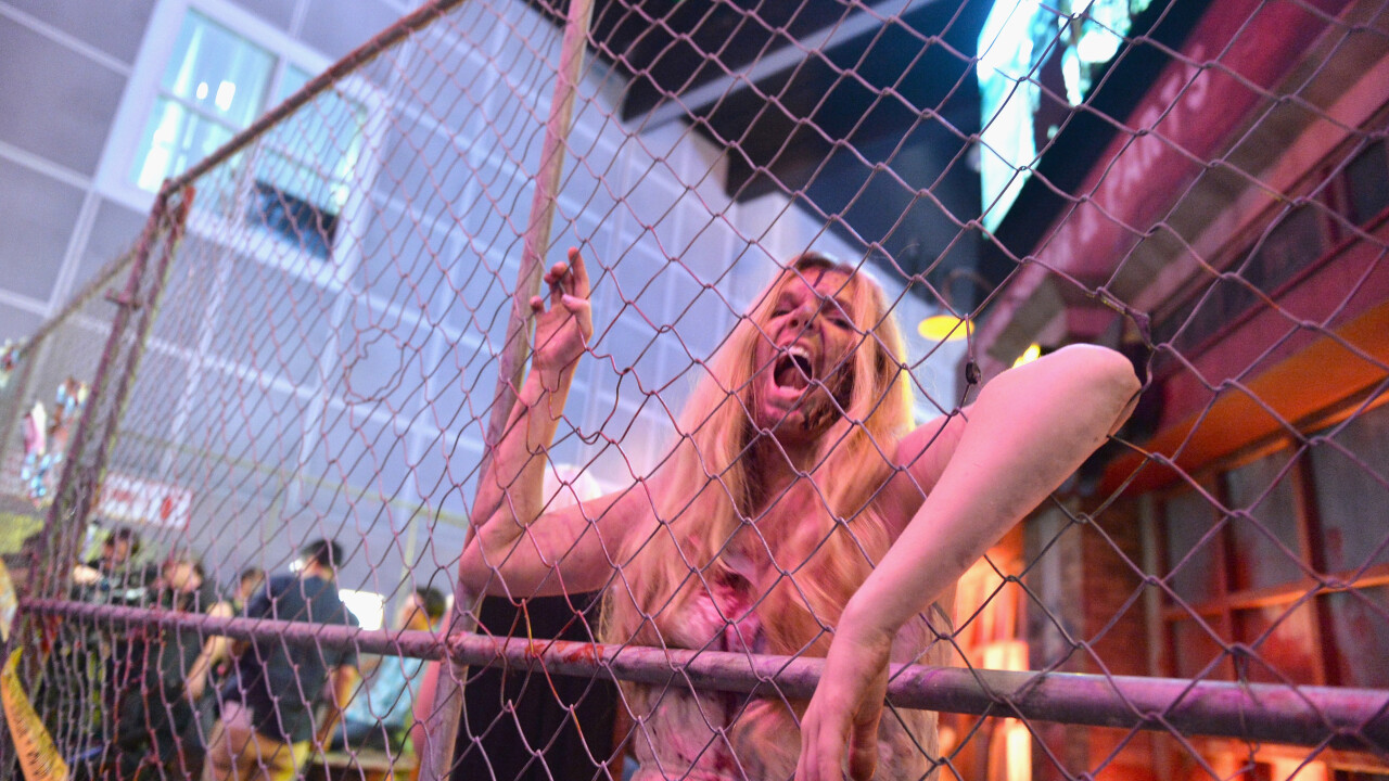 Remember that giant Xbox One in Vancouver? Turns out there was a horde of zombies inside