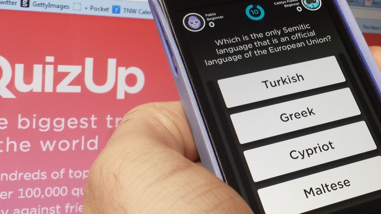 QuizUp lands for the iPad as the hit trivia game claims 10m users in just 2 months