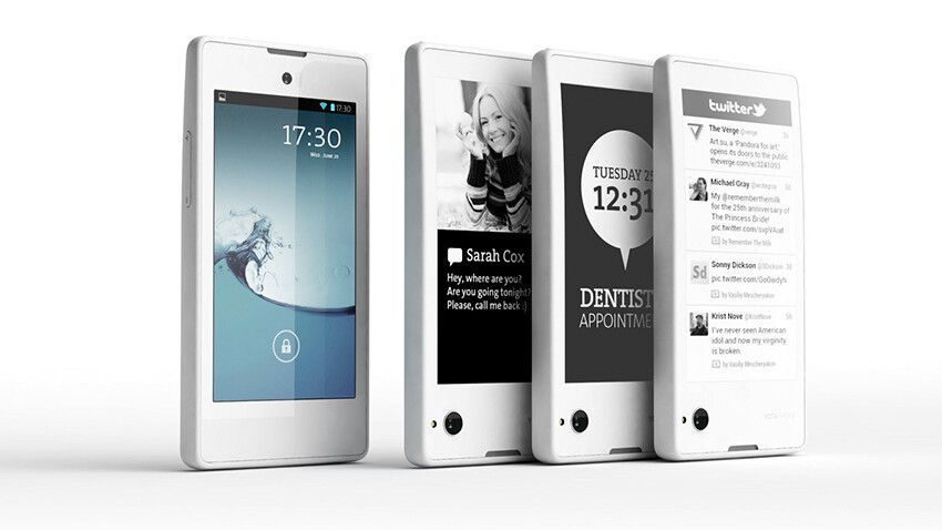 Dual-screen LCD and e-ink display-equipped Android YotaPhone headed to retailers 'before Christmas'