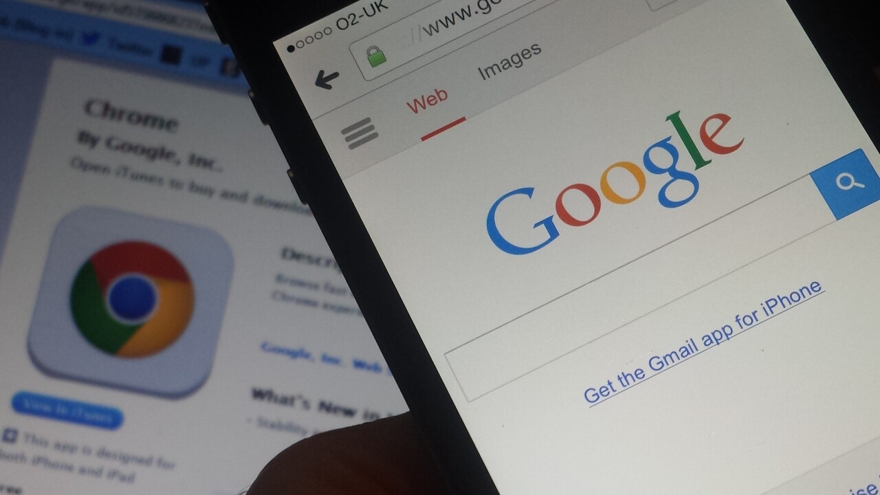 Google Chrome for iOS update brings autofill, syncing your info between PC and mobile