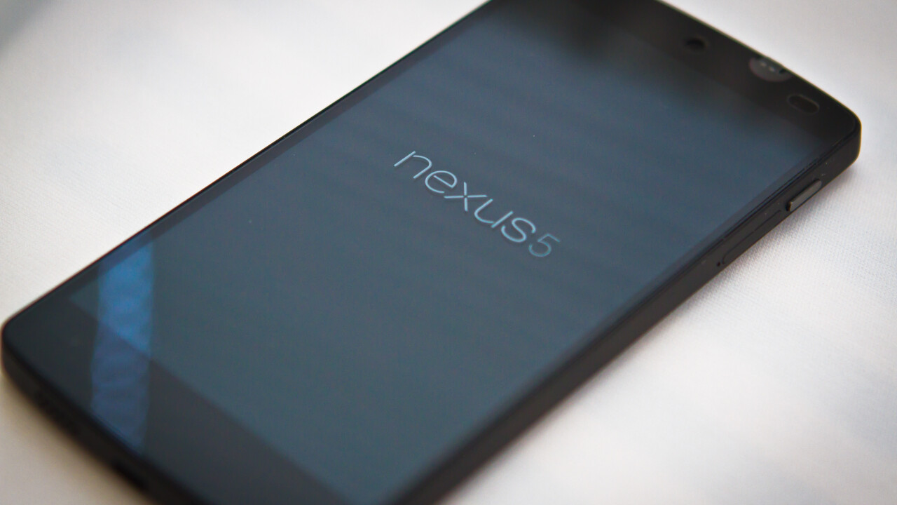 Hands-on first impressions of Google's Nexus 5 and Android 4.4 KitKat