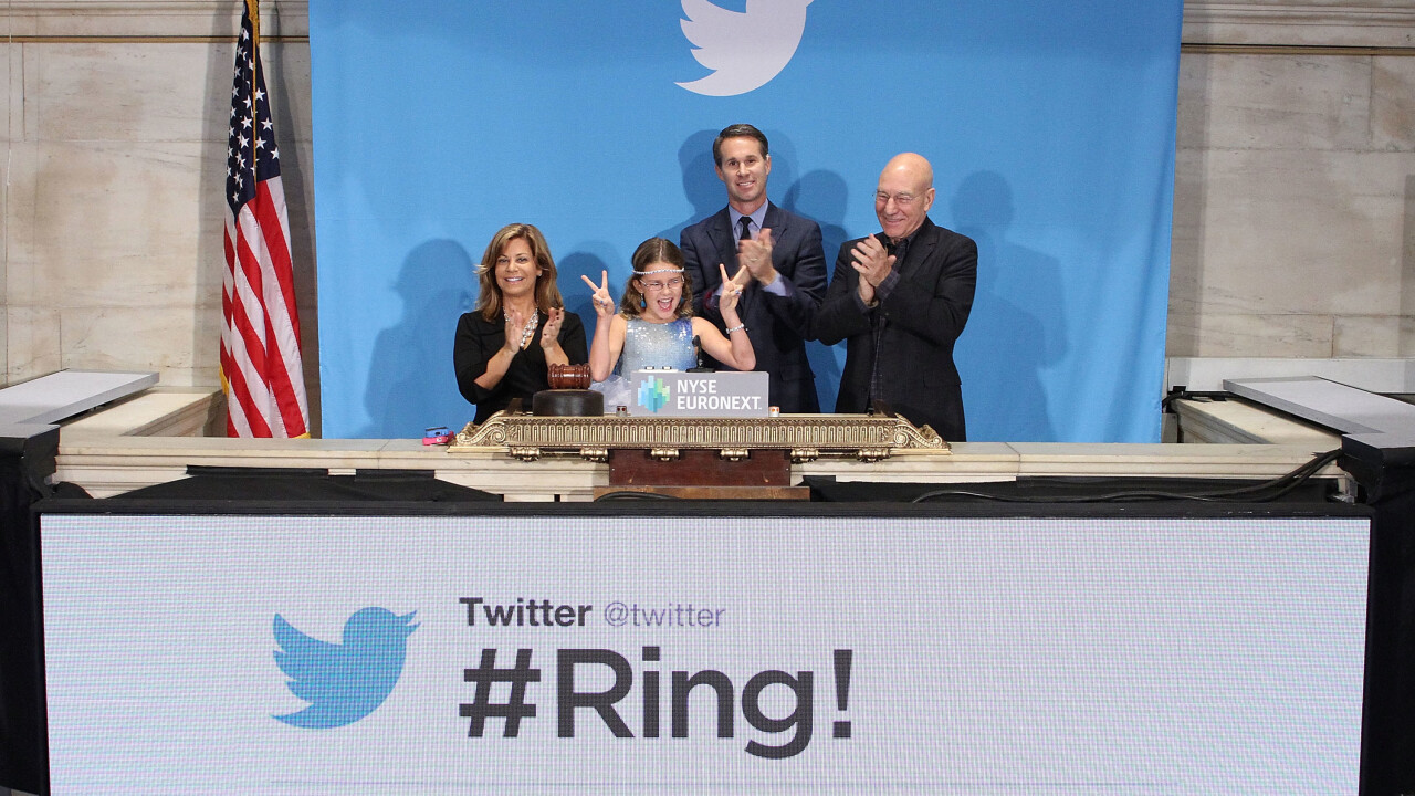 Here's the amazing note 9-year-old Vivienne Harr wrote to Twitter's Stone after ringing the NYSE bell
