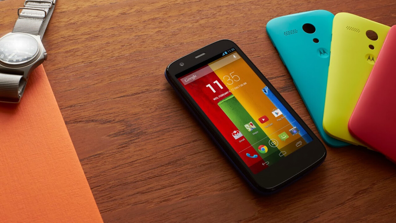 Moto G Google Play Edition now available in the US: 8GB for $179 and 16GB for $199
