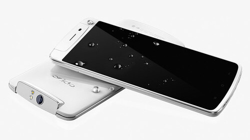 Oppo's N1 Android smartphone, with a 13MP rotating camera, officially goes on sale in China