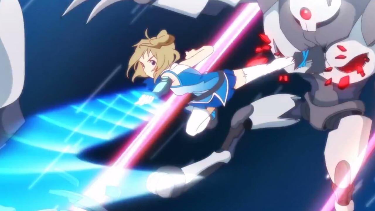 Internet Explorer's new official mascot is Inori Aizawa, a cute robot-fighting anime heroine