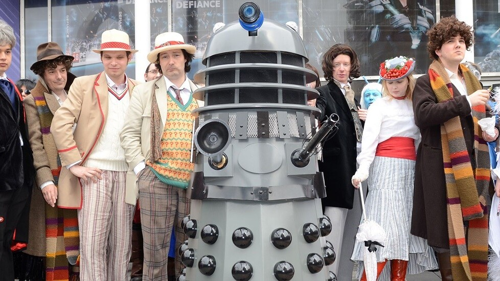 Today's Google Doodle is a fun game in honor of Doctor Who's 50th anniversary