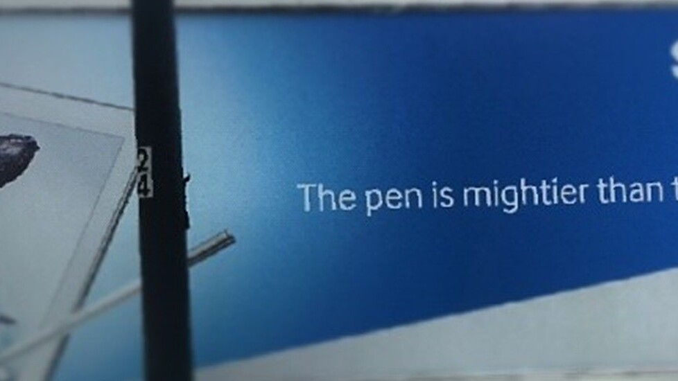 Samsung invites male appendage jokes with 'Pen is mightier…' billboard ads