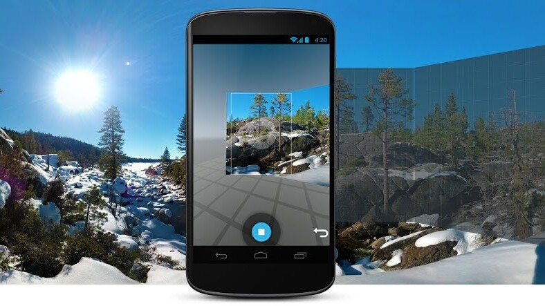 Android 4.4 improves 360-degree Photo Spheres with faster rendering and 'optimal seam finding'