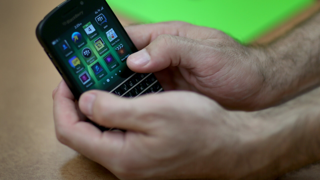 BlackBerry enlists Foxconn to build new smartphones for emerging markets, as revenue plummets in Q3
