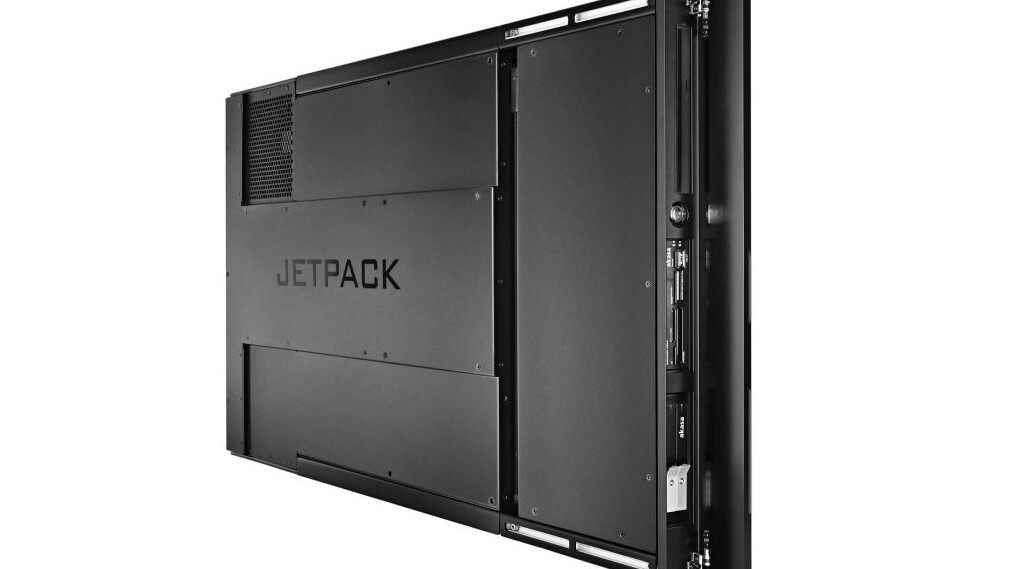 PiixL's SteamOS-compatible Jetpack PC hides neatly behind your TV. On sale next month