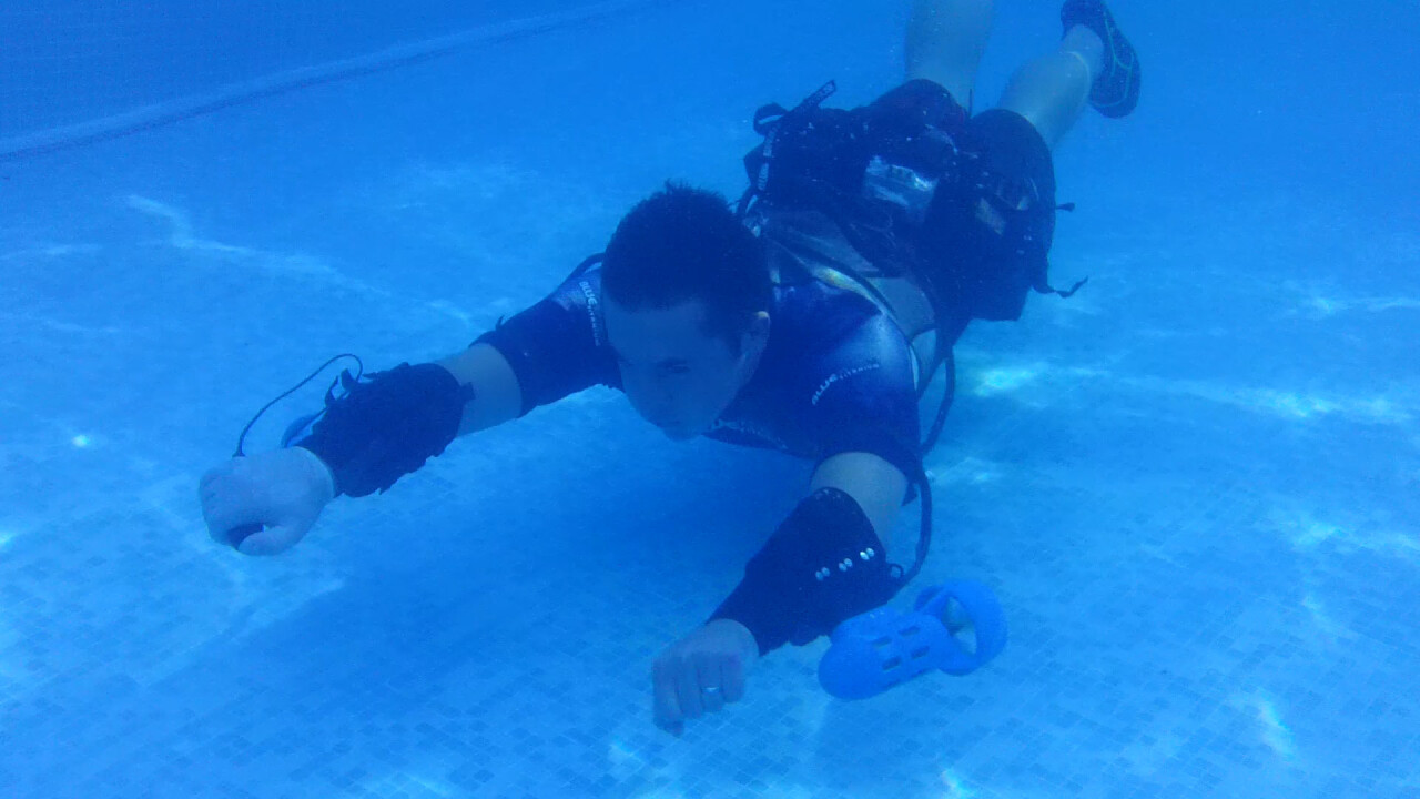 Want an underwater jet pack? If this crowdfunding project succeeds, one could be yours for $5,700