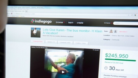 Indiegogo users will soon be able to embed their crowdfunding campaigns anywhere on the Web