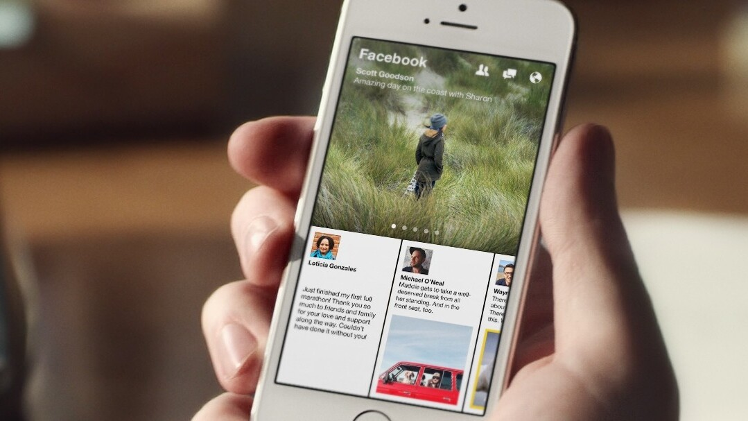 Facebook announces Paper, a visual and social news app that launches in the US on February 3
