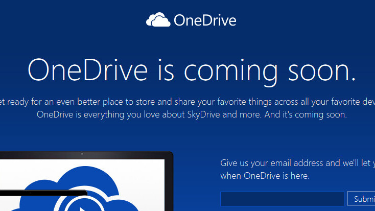 Microsoft changes 'SkyDrive' name to 'OneDrive', six months after losing court battle to BSkyB