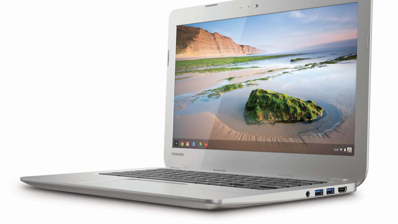 Google previews Android apps running on Chromebooks