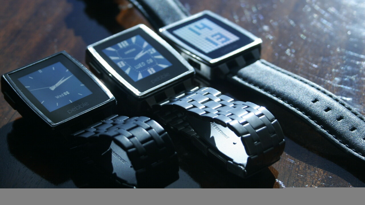 Hands-on with the Pebble Steel: A smartwatch that actually looks like a watch